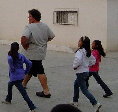 city of children, ensenada, mexico, orphanage, game, girls